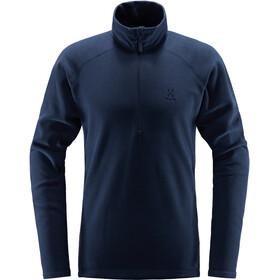 Haglöfs Astro T-shirt zippé Homme, tarn blue